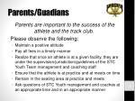 parents guadians