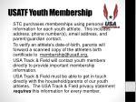 usatf youth membership