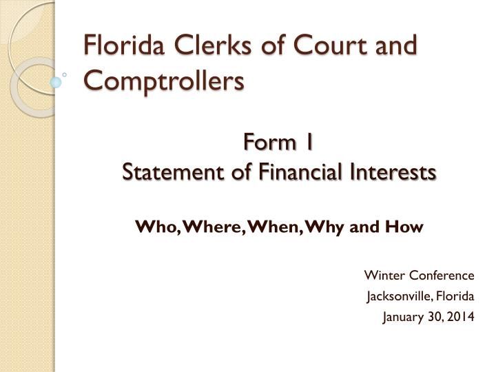 florida clerks of court and comptrollers n.