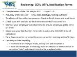 preparing re reviewing ccfs atfs notification forms