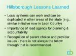 hillsborough lessons learned