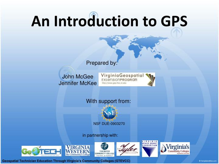 an introduction to gps n.