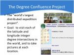 the degree confluence project