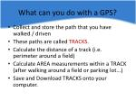 what can you do with a gps1