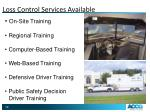 loss control services available