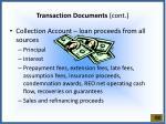 transaction documents cont1