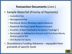 transaction documents cont3