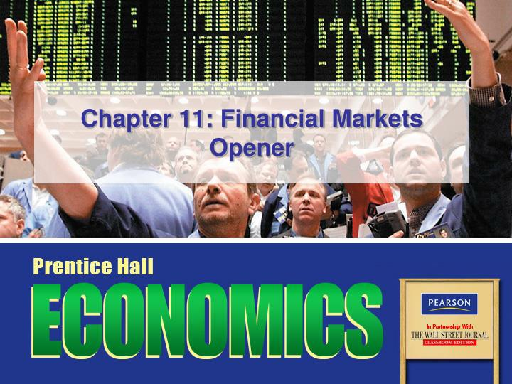 chapter 11 financial markets opener n.