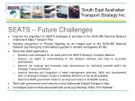 seats future challenges