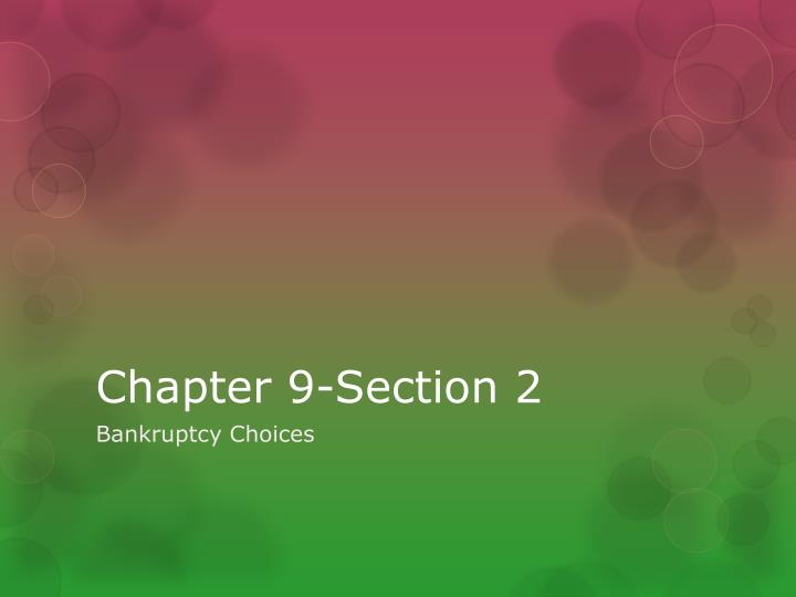 chapter 9 section 2 n.