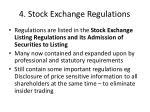 4 stock exchange regulations2
