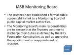 iasb monitoring board
