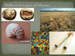 different types of money