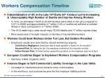 workers compensation timeline
