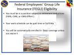federal employees group life insurance fegli eligibility