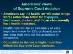 americans views of supreme court decision