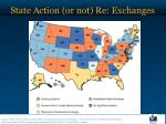 state action or not re exchanges