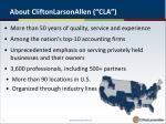 about cliftonlarsonallen cla