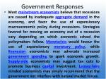 government responses