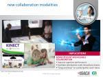 new collaboration modalities