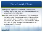 benchmark plans