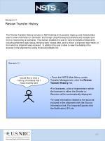 scenario 3 1 review transfer history