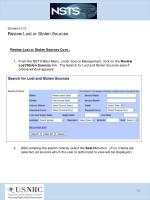 scenario 3 10 review lost or stolen sources1