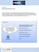 scenario 3 12 record irretrievable sources