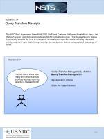 scenario 3 14 query transfers receipts