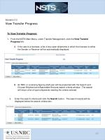 scenario 3 2 view transfer progress