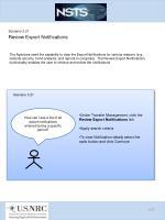 scenario 3 21 review export notifications
