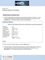 scenario 3 23 maintain reports schedules2