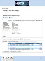scenario 3 23 maintain reports schedules3