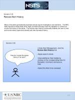 scenario 3 25 review alert history
