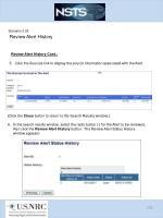 scenario 3 25 review alert history4