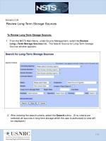 scenario 3 26 review long term storage sources1