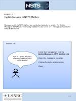 scenario 3 31 update message in nsts mailbox