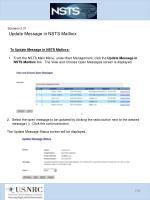 scenario 3 31 update message in nsts mailbox1