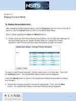 scenario 3 4 display current alerts2