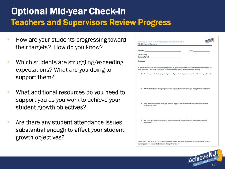 Optional Mid-year Check-in