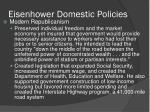 eisenhower domestic policies2