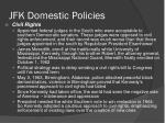 jfk domestic policies2