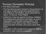 truman domestic policies1
