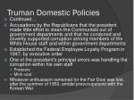 truman domestic policies2