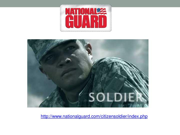 http://www.nationalguard.com/citizensoldier/index.php