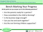 bench marking your progress