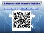 study abroad scheme website