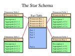 the star schema
