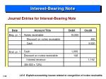 interest bearing note5