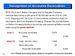 recognition of accounts receivables3